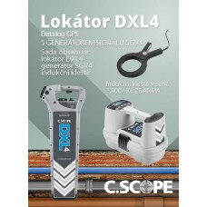 Detektor ing. sítí C.Scope DXL4 DBG a generátor SGV4-set