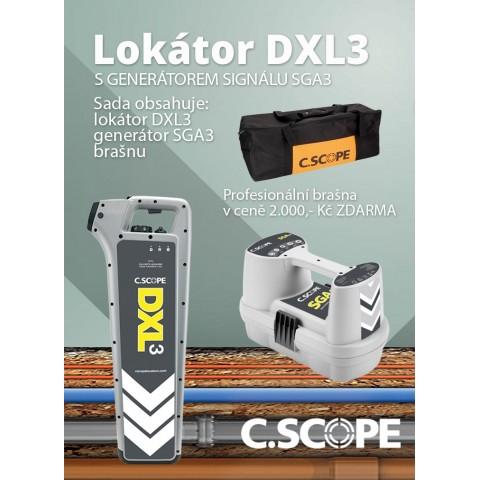 Detektor ing. sítí C.Scope DXL3 a generátor SGA3-set