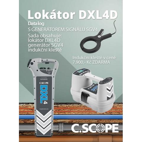Detektor ing. sítí C.Scope DXL4 D a generátor SGV4-set