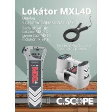 Detektor ing. sítí C.Scope MXL 4D a generátoru MXT 4