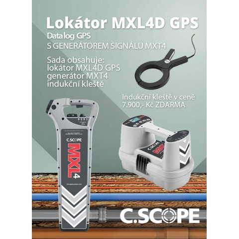 Detektor ing. sítí C.Scope MXL4 DBG a generátor MXT4-set